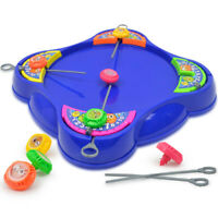 Toys Battling Spinning Tops Game Launcher Board for Kids Child Play Toy Gift