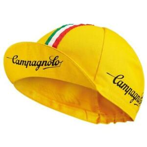 Campagnolo Sportswear Cycling Cap (one size) Made in Italy - Bike Hat, Yellow