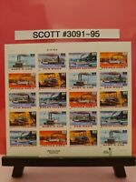 Scott # 3091-95- Riverboats - Sheet of (20) 32 Cents Stamps