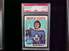 1975 Topps Hockey #245 Bob Neely MAPLE LEAFS.  PSA-10 GEM MINT.