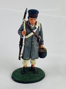 1/32  Del Prado   CONSCRIPT 82nd REGIMENT FRENCH LINE Inf 1814 lead figure