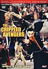 CRIPPLED AVENGERS  - Hong Kong Kung Fu Martial Arts Action movie DVD - NEW DVD