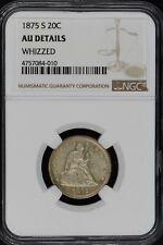 1875-S Seated Liberty Twenty Cent 20C NCG AU Details