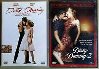 DIRTI DANCING - BALLI PROIBITI (1987) + DIRTY DANCING 2 (2004)  - 2 DVD USATI