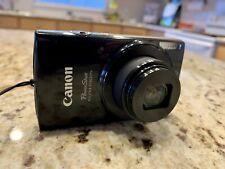 Canon PowerShot ELPH 190 IS Bluetooth 20 MP Digital Camera - Black