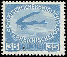 Scott # B7 - 1915 - ' Airplane '