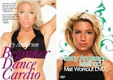TRACY ANDERSON METHOD Beginner Dance Cardio + Mat Workout 2DVD NEW