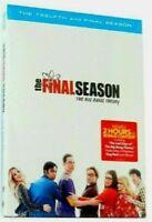 The Big Bang Theory Season 12 (DVD, 3-Disc Set) New & Sealed Fast Shipping