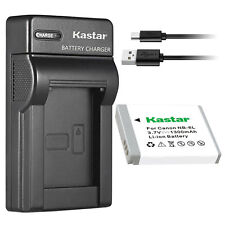 NB-6L Battery & USB Charger for Canon PowerShot SX540 HS, SX600 HS, SX610 HS