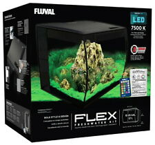 Fluval Flex LED Freshwater Kit Black 15 Gallon