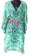 Kaftan Regular Size 100% Silk Dresses for Women
