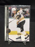 2020-21 Upper Deck Series 1 Patrice Bergeron #13 Boston Bruins