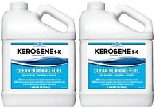 Crown Kerosene 1-K (1 Gallon) Clean Fuel for Heaters Lamps Stoves - 2 New Sealed