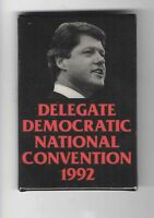 National CONVENTION Delegate pin BILL CLINTON 1992