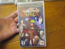 Naruto Shippuden: Ultimate Ninja Impact  PSP SONY US NEW SEALED Hole Punched UPC