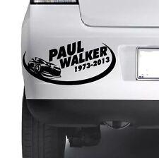 Rip Paul Walker Coche Ventana Parachoques Vinilo Autoadhesivo Con Pared JDM Xbox