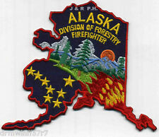 "Wildland - Alaska Division of Forestry, AK  (5.5"" x 4.5"" size)  fire patch"