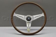 Nardi Personal ND39 Classico Steering Wheel - 390mm - Wood / Polished Spokes