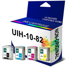 4 Generic Ink Cartridge for use in hp10 C4844AE hp82 C4911A C4912A C4913A