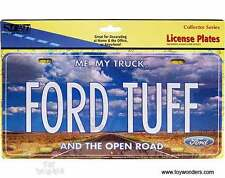 Ford Tuff Novelty Number Plate USA Size F100 F150 F250 F350 Bronco Ranger BA Ute