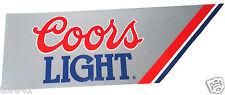 Coors Light Novelty Bumper Sticker