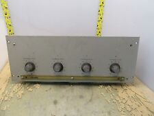 Scully type 280 playback level control w/ amplifier cards [16-O]
