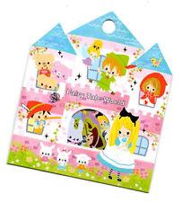 Kamio Japan Happy Seal Flake Fairy Tale World Sticker Sack stickers flakes