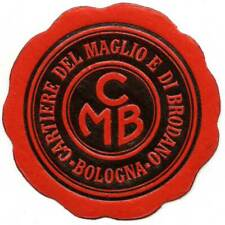 Italy Poster Stamp - Maglio & Brodano Paper Mills - Die-Cut Embossed Letter Seal