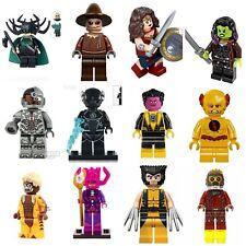 X-Men Xmen Spiderman Marvel Super Hero Mini Figures Star Lord Flash Wolverine