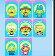 Topps Disney Collect ALIEN MOTION 8 CARD SET