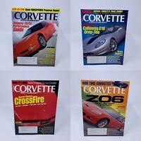 Lot of 4 Corvette Enthusiast Magazines June Aug Sept Oct 2007