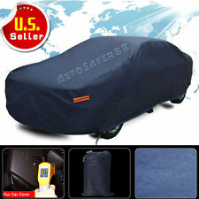 9Layers PEVA Snow UV Car Cover Sun Dust Rain Resistant Waterproof Protection A2