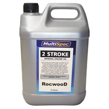 Two Stroke Engine Oil 5 L Litre For Chainsaw Strimmer Brushcutter Cut Off Saw