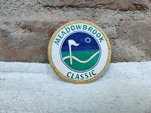 Vintage Energy Weldfab Meadowbrook Classic Handwoven Badge Collectable