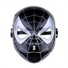 Spiderman Maschera Masquerade Super Eroe Costume Maschera , nero UOMO RAGNO MASCHERE