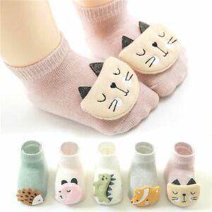 Animal Soft Anti Slip Sole Infant Accessories Newborn Floor Socks Baby Socks
