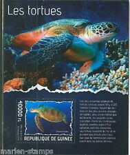 GUINEA  2014 TURTLES  SOUVENIR SHEET MINT NH