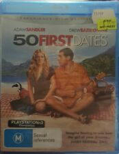 *New & Sealed* 50 First Dates (Blu-ray, 2006) Adam Sandler Romcom, Reg B AUS