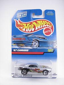 Hot Wheels 1999 - BLUE CRAD COLLECTOR - '67 CAMARO