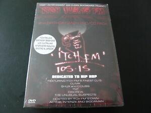 ITCH FM 2ND BIRTHDAY BASH DVD/CD PACK..SEALED..TASK FORCE KLASHNEKOFF UK HIP HOP