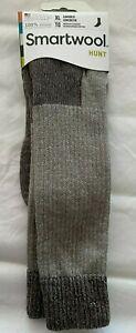 Smartwool Hunt Hike Men Medium Cushion Crew Sock Taupe XL Fits Shoe size 12-14.5