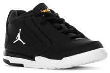 Nike Air Jordan Big Fund Kids PS Black White Gold Boys Youth Shoes CD9649-007