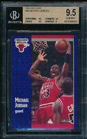 BGS 9.5 MICHAEL JORDAN 1991-92 91-92 Fleer #29 Chicago Bulls RARE GOAT GEM MINT