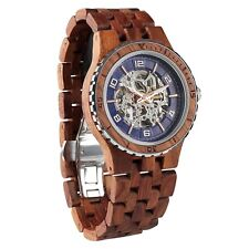 WIlds Men's Handmade Kosso Wood Watches | Automatic Wooden Watches For Him