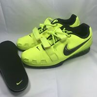 New Nike Romaleos 2 Weightlifting Crossfit Training Shoes 476927-700 Men size 15