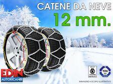 CATENE DA NEVE OMOLOGATE AUTO 12mm GR. 247 235/50R19 235/50/19
