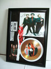 GREEN DAY  SIGNED  GOLD CD  DISC  915