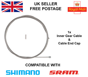 Livewire bicycle gear cable standard galvanised 1.2mm*2300mm Shimano comp.
