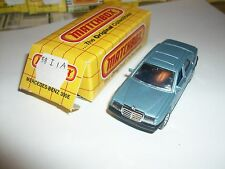 Matchbox Mercedes 300E W/ Box Made In Thailand MB58   58 I 1A