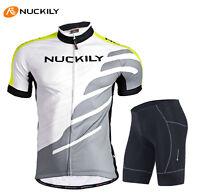 Summer Cycling Bike Short Sleeve Clothing Bicycle Set Suit Jersey+Shorts M-XXL
